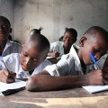 African school children
